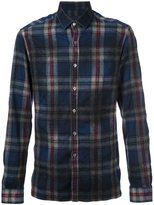 Lanvin checked pattern flannel shirt