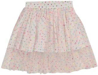 Stella McCartney Kids Polka-dot tulle skirt
