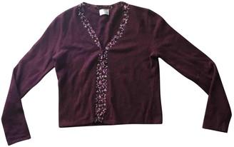 Philosophy di Alberta Ferretti Purple Wool Knitwear