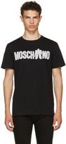Moschino Black Transformers Logo T-shirt