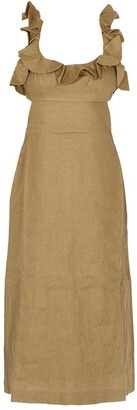 Zimmermann Super Eight Sleeveless Midi Dress