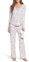 Make + Model Women's Knit Girlfriend Pajamas & Eye Mask