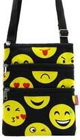 Handbags Emoji Messenger Bag Smiley Face Cross Body Shoulder Handbag