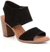 Toms Majorca Block Heel Sandals