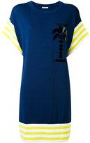 Iceberg contrast hem T-shirt dress - women - Polyamide/Viscose - XS