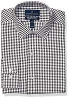 Buttoned Down Men's Classic Fit Tech Stretch CoolMax Easy Care Dress Shirt