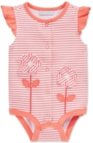 First Impressions Striped Flower Creeper, Baby Girls'