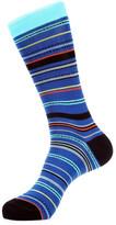 Jared Lang Spotted Stripe Sock