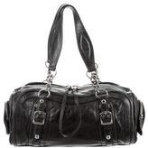 Balenciaga Leather Barrel Bag