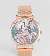 Reclaimed Vintage Inspired Wild Mesh Watch In Rose Gold Exclusive To ASOS