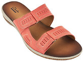 Clarks As Is Double Strap Leather Sandals - Taline Pop