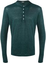 Massimo Alba buttoned sweatshirt - men - Linen/Flax - M