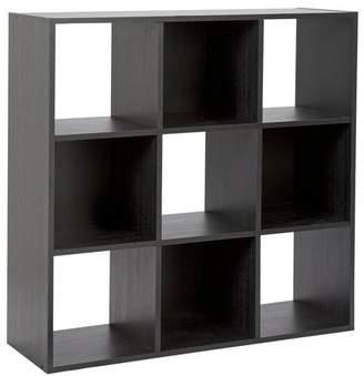 Argos Home Squares 9 Cube Storage Unit - Black