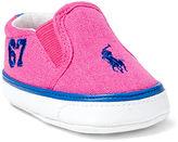 Ralph Lauren Girl Victory Canvas Sneaker