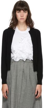 Comme des Garçons Comme des Garçons Black Wool Cardigan