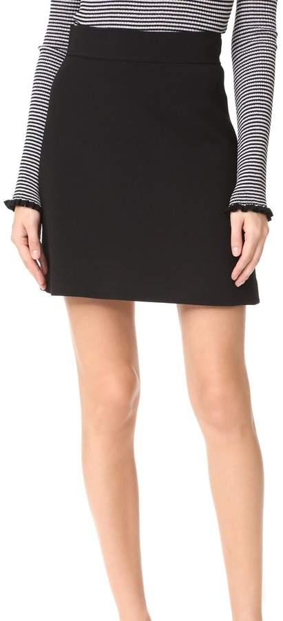 Theory Highwaist Mini Skirt