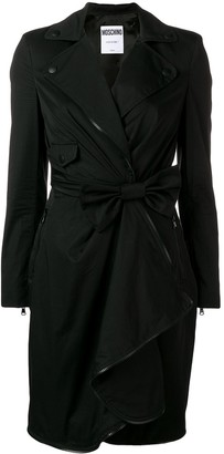 Moschino Bow Wrap Dress