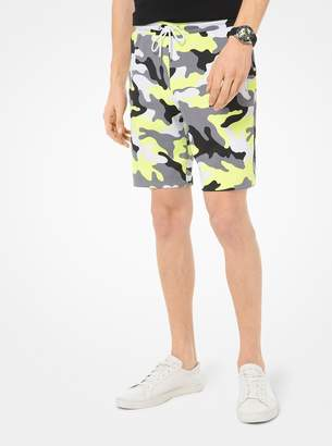 Michael Kors Neon Camo Shorts