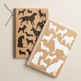 Dog Lined Kraft Journals, Set of 2