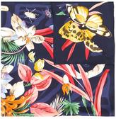 Salvatore Ferragamo floral assemblage scarf