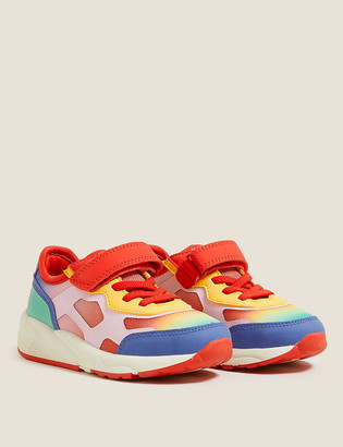 Marks and Spencer Kids' Rainbow Bright Chunky Trainers (5 Small - 12 Small)