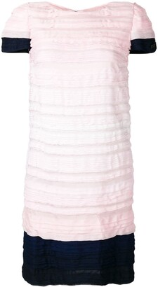 Chanel Pre Owned 2009's Pleated Short Dress