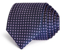 HUGO BOSS Florette Grid Skinny Tie