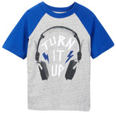 Joe Fresh Short Sleeve Graphic Raglan Tee (Toddler & Little Boys)