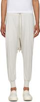 Rick Owens Off-white Prisoner Drawstring Lounge Pants