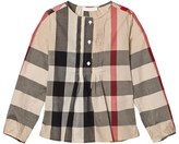Burberry New Classic Check Blouse