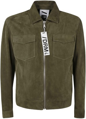 Drome Leather Zipped Jacket