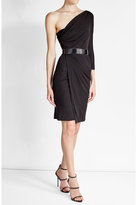 DSQUARED2 Asymmetric Dress with Sequins