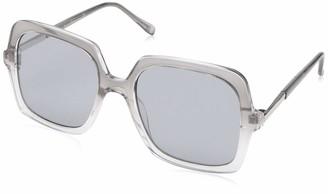 Laundry by Design Women's Ld266 Brnf Non-Polarized Iridium Rectangular Sunglasses
