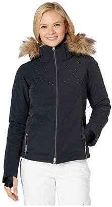 Obermeyer Evanna Down Jacket (Black) Women's Clothing