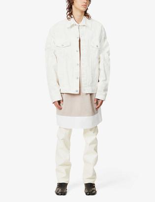 Maison Margiela Marble-wash denim jacket