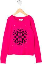 Milly Minis Girls' Crew Neck Sweater