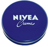 Nivea Genuine Authentic German Creme Cream available in 5.1 oz. / 150ml metal tin - Made in Germany & imported from Germany! NOT Thailand, Mexico or anywhere else! (150ml - 5.1 oz)