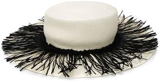 Alanui Fringed Trim Hat