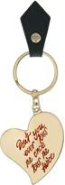 Vivienne Westwood & Anglomania Heart Key Ring 390035 Black