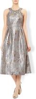 Monsoon Ezra Embellished Jacquard Dress