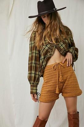 Flook Mira Crochet Harem Shorts