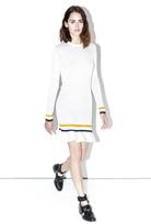 3.1 Phillip Lim Smocked long-sleeve dress