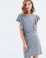 Miss Selfridge Frill Tee Dress