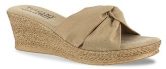 Easy Street Shoes Tuscany Dinah Espadrille Wedge Sandal