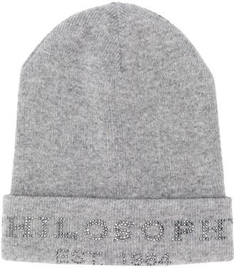 Philosophy Di Lorenzo Serafini Kids Studded Logo Hat