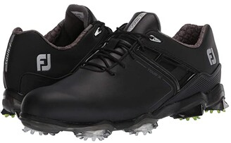 Foot Joy FootJoy Tour X (White/Red Trim) Men's Golf Shoes