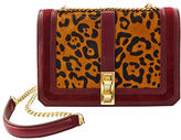 Brian Atwood Animal Printed Chainlink Crossbody Bag