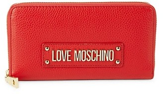Love Moschino Leather Continental Wallet