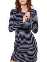 Joules Daylia Stripe Jersey Dress, French Navy Stripe