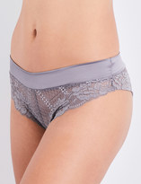 Palindrome Never Never Cheekie stretch-lace briefs